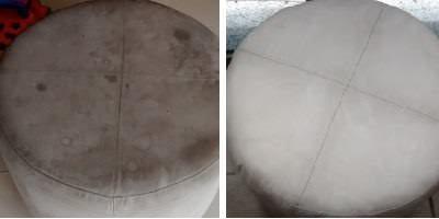 Xôo Ácaro! Antes e Depois da Lavagem a Seco