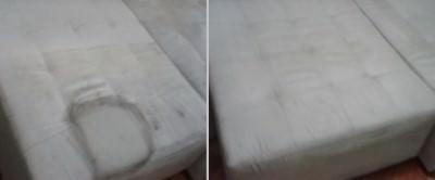 Serviço de Lavagem de Sofá a Sseco Antes e Depois
